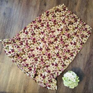 Gorgeous Floral Summer Skirt!